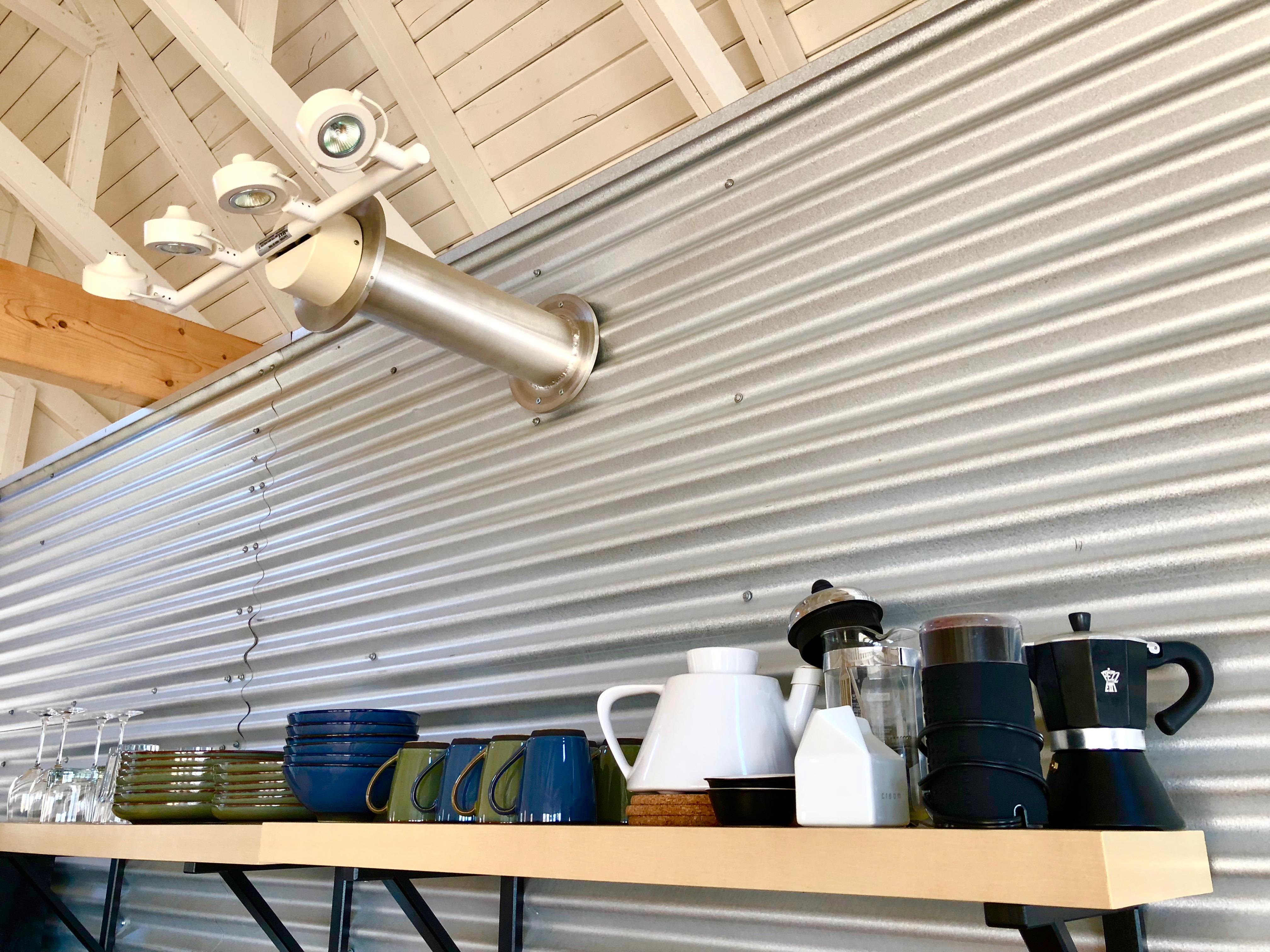 custom lighting and coffee gear