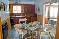 rental cottage kitchen