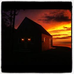 amazing sunsets, cape cottage