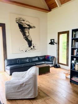 Living room, SeaSky cottage