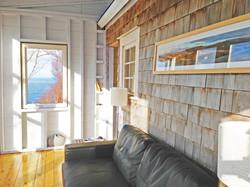 Sunroom, deepBlueSea cottage