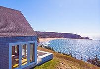 eagles pass cottage, seasky cottgages in chimney corner, cape breton