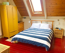 master bed area, seasky cottgages in chimney corner, cape breton