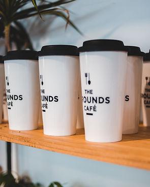 Canva - Similar craft coffee glasses on