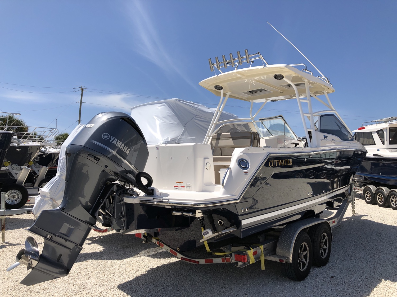 24 Cutwater C-24 dual console bow rider factory direct