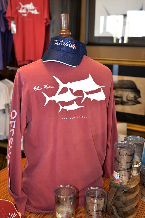 INTERNATIONAL MARLIN - BRICK LONG SLEEVE
