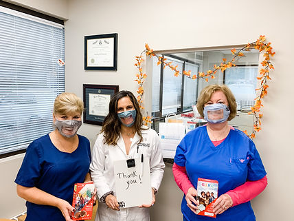 Girl Scout Masks with Staff.JPG