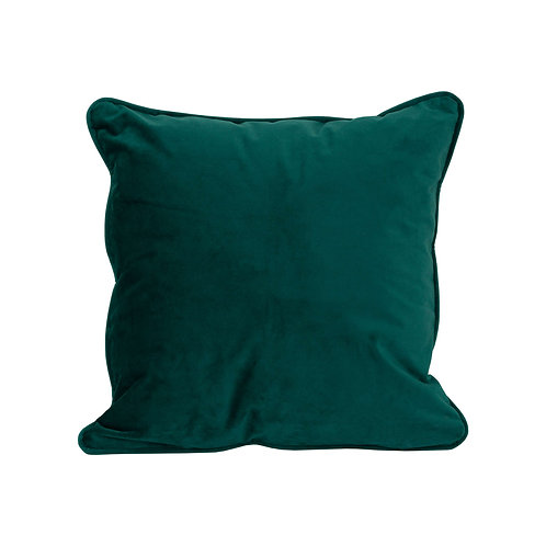 Emerald Green Velvet Cushion 40x40cm