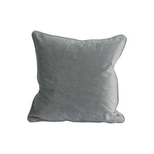 Grey Velvet Cushion 40x40cm