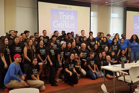 2017 Think Like A Genius Challenge participants and team mentors.