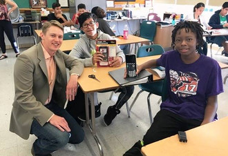In 2018, Friends of Nathan Yip provided a grant to purchase TI-83 graphing calculators to the entire incoming freshman class of Patriot Pairs mentees.