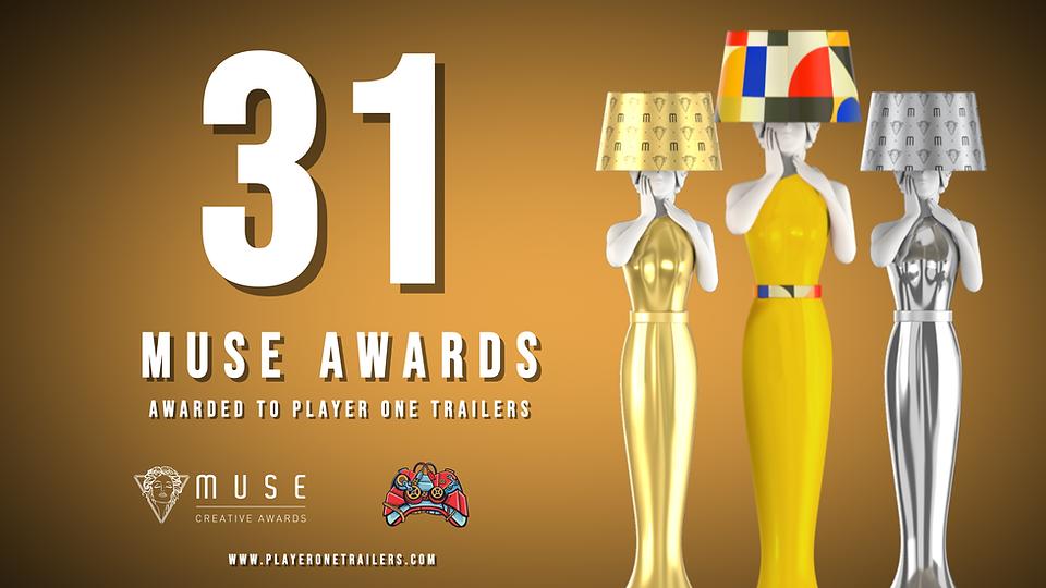 We won 31 MUSE Awards!