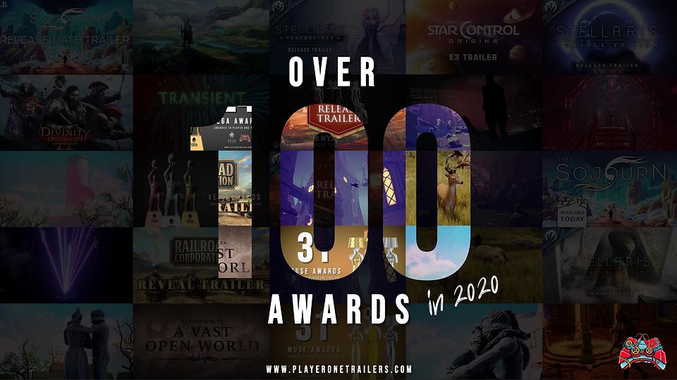 Winning over 100 awards in 2020
