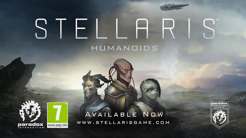Stellaris: Humanoids - Launch Trailer
