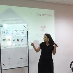 Lecture at Developmental Child Center