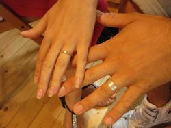 Luke & Jenna's rings