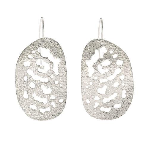Soredia drop earrings, product shot