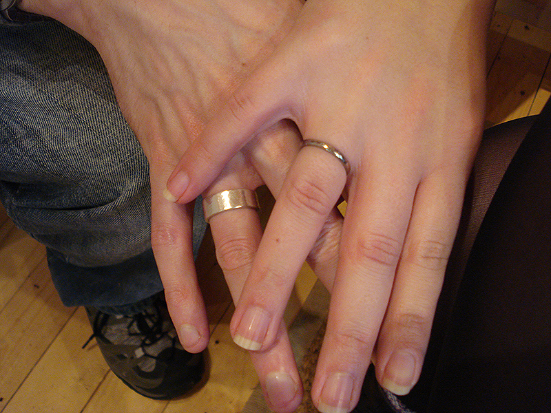 Katherine & Rob's rings