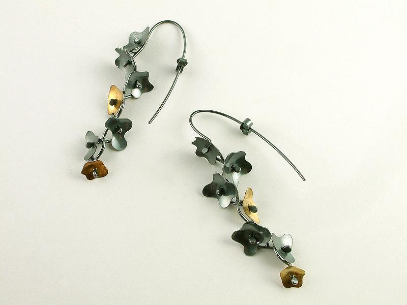 Blossom drop earrings