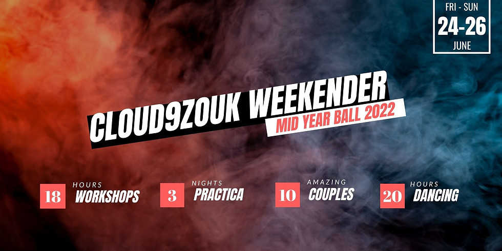 Cloud9Zouk Weekender | Mid Year Ball June 2022