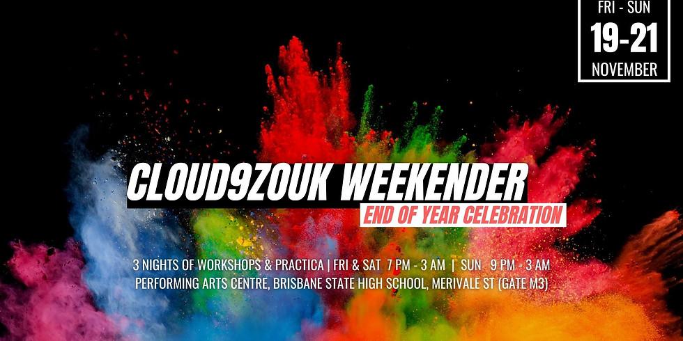 Cloud9Zouk Weekender | End of Year Celebration 2021