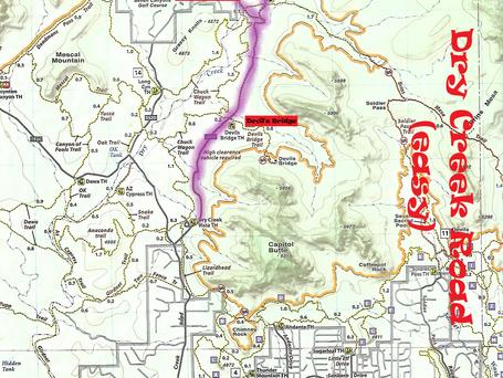 Dry Creek Road Map