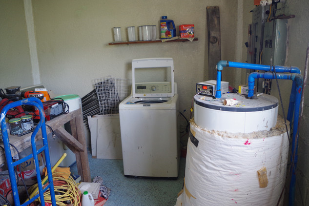 Utility Room (Water Heater)