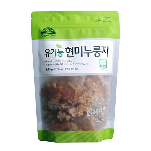유기농 현미 누룽지 240g