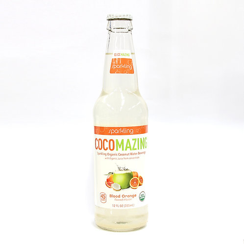 코코메이징 유기농 블러드오렌지 코코넛 탄산음료