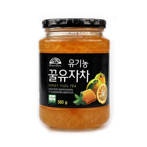꿀 유자차 560g