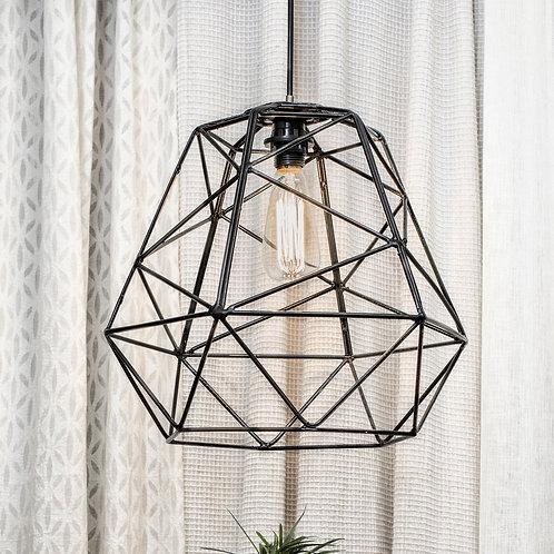 Icosohedron Metal Pendant Lamp