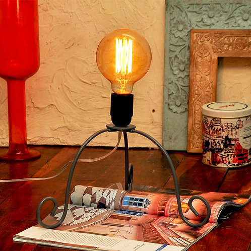 Miniature Table Lamp With Bulb