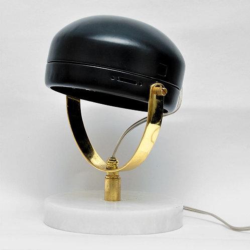 Headlight Marble Metal Table Lamp