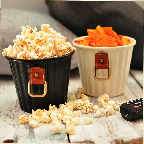Leather Snack bowl containers