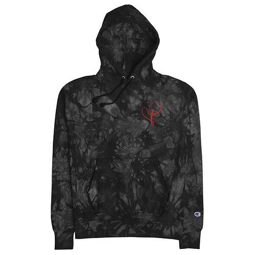 Love Christ Champion tie-dye hoodie