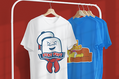 mockup-featuring-two-customizable-t-shir