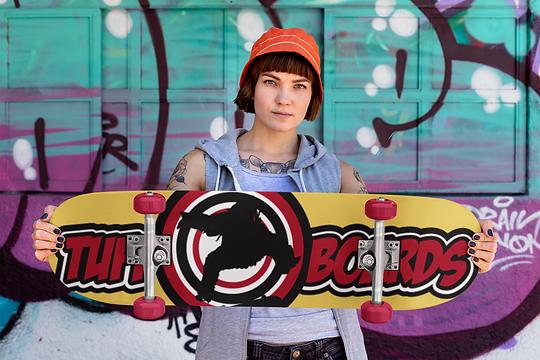 mockup-of-a-rad-woman-holding-a-skateboa
