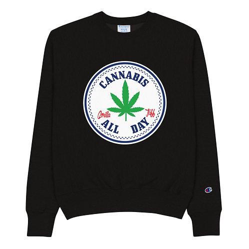 Cannabis all day Sweatshirt