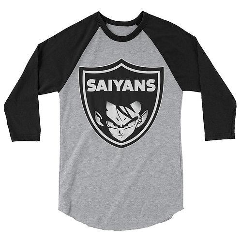 SAIYANS 3/4 sleeve raglan shirt