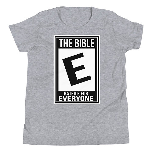 Rated E for Everyone Youth T-Shirt