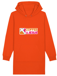 Coffee and Jesus hoodie dress