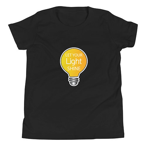 Let Your Light Shine Youth T-Shirt