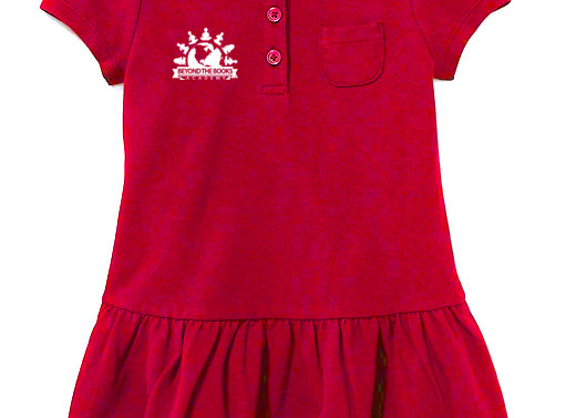 Polo style Dress with logo