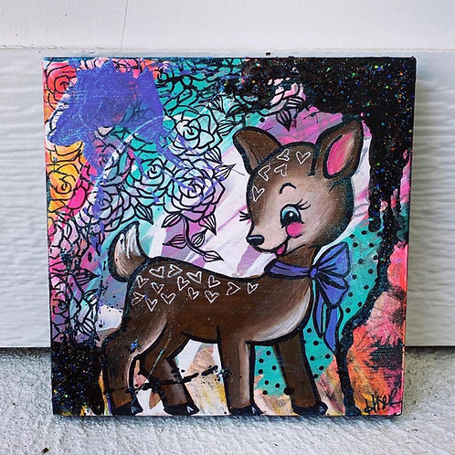 Mini Painting_Fawn