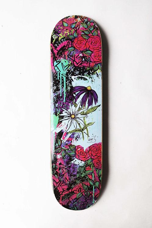 Purple Flower_Usable Deck