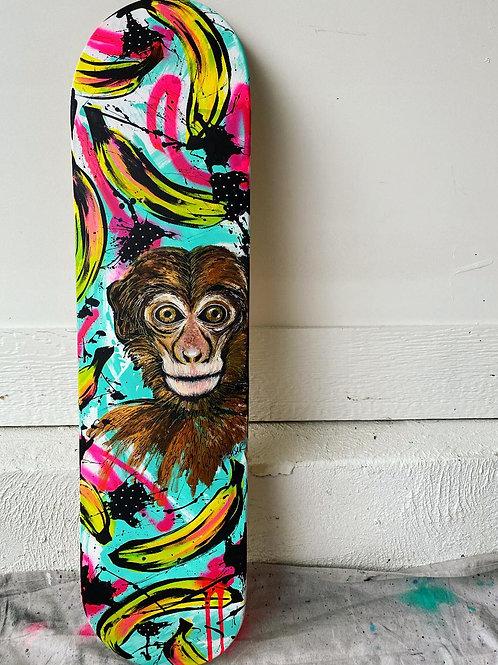 Skate Deck_Monkey