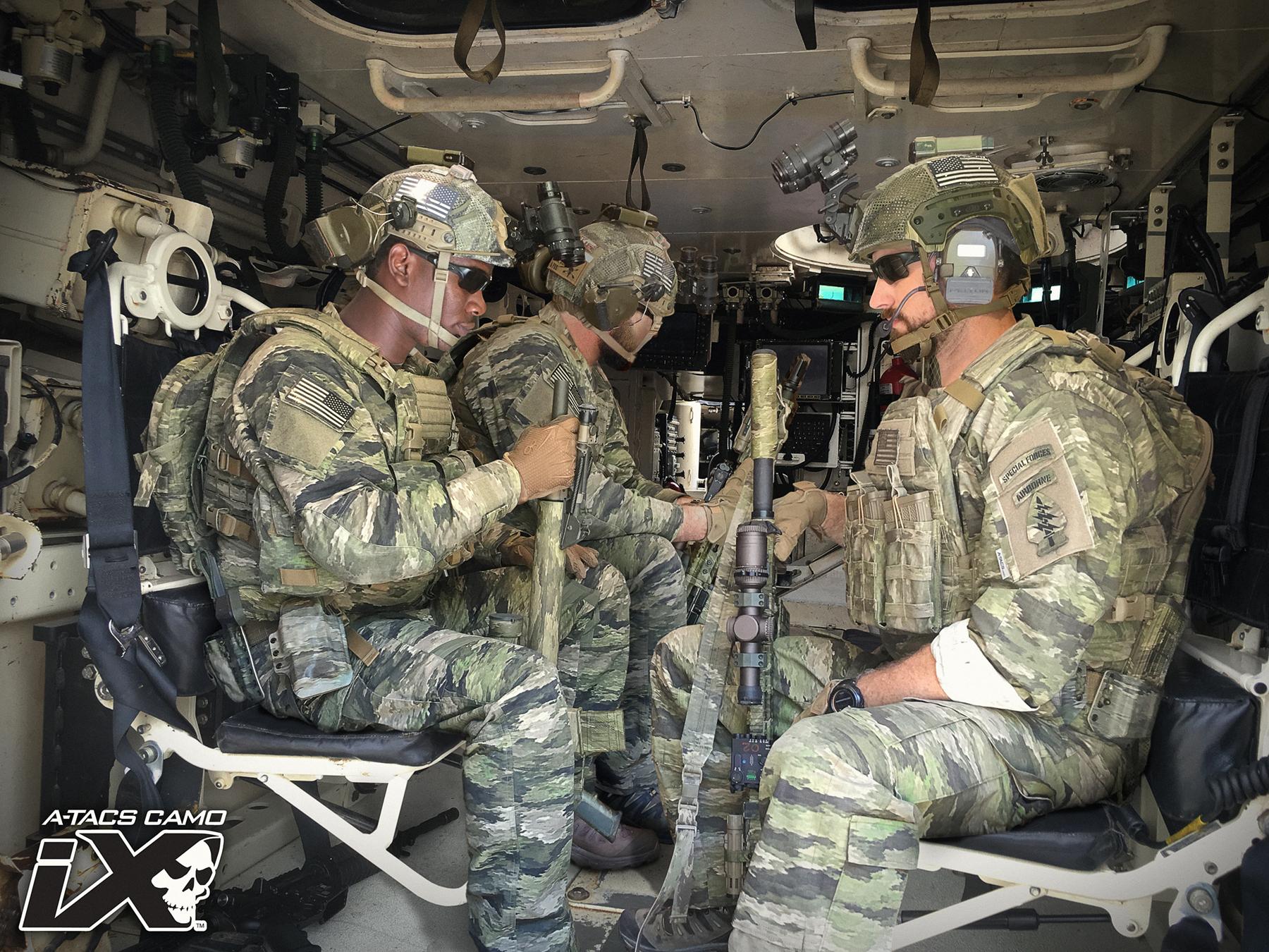 A Tacs United States Camo Home Sarung Hp Pounch Tactical Army Atacs Ix Striker Lr