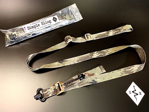 "Snake Eater Tactical:  Simple Sling ""Heavy Duty QD Swivel"""