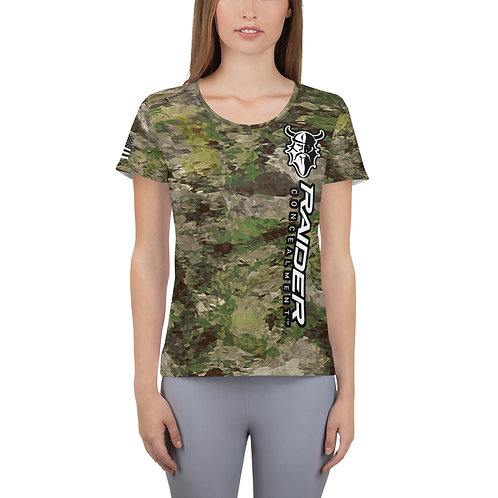 """Women's Gladius """"Its All About the Beard"""" Athletic T-shirt"""