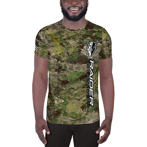 """Gladius Men's """"All About the Beard"""" Athletic T-shirt"""